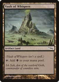 Vault of Whispers, Magic, Mirrodin