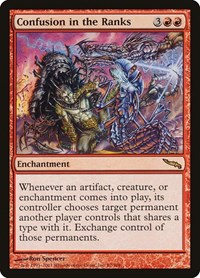 Confusion in the Ranks, Magic: The Gathering, Mirrodin