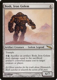 Bosh, Iron Golem, Magic, Mirrodin