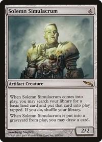 Solemn Simulacrum, Magic: The Gathering, Mirrodin