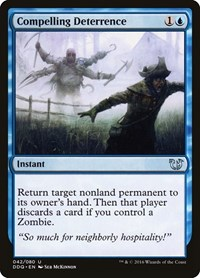 Compelling Deterrence, Magic: The Gathering, Duel Decks: Blessed vs. Cursed