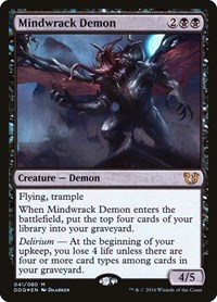 Mindwrack Demon, Magic: The Gathering, Duel Decks: Blessed vs. Cursed