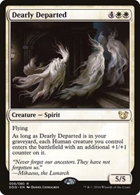 Dearly Departed, Magic: The Gathering, Duel Decks: Blessed vs. Cursed