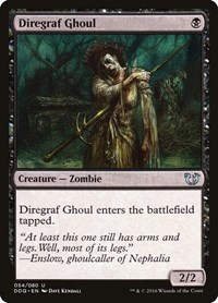 Diregraf Ghoul, Magic: The Gathering, Duel Decks: Blessed vs. Cursed