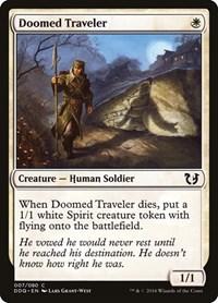 Doomed Traveler, Magic: The Gathering, Duel Decks: Blessed vs. Cursed