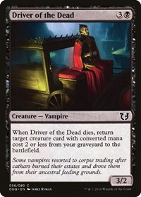 Driver of the Dead, Magic: The Gathering, Duel Decks: Blessed vs. Cursed