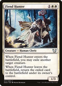 Fiend Hunter, Magic: The Gathering, Duel Decks: Blessed vs. Cursed