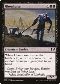 Ghoulraiser, Magic: The Gathering, Duel Decks: Blessed vs. Cursed