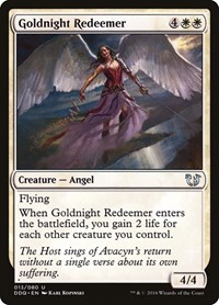Goldnight Redeemer, Magic: The Gathering, Duel Decks: Blessed vs. Cursed