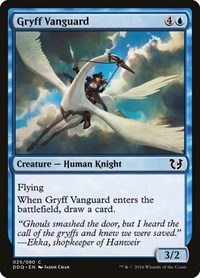 Gryff Vanguard, Magic: The Gathering, Duel Decks: Blessed vs. Cursed