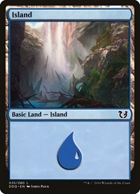 Island (35), Magic: The Gathering, Duel Decks: Blessed vs. Cursed