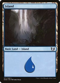 Island (71), Magic: The Gathering, Duel Decks: Blessed vs. Cursed