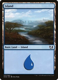 Island (73), Magic: The Gathering, Duel Decks: Blessed vs. Cursed