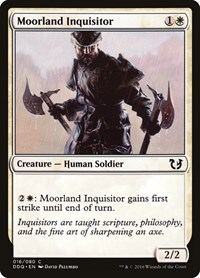 Moorland Inquisitor, Magic: The Gathering, Duel Decks: Blessed vs. Cursed