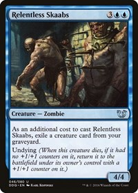 Relentless Skaabs, Magic: The Gathering, Duel Decks: Blessed vs. Cursed