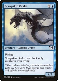 Scrapskin Drake, Magic: The Gathering, Duel Decks: Blessed vs. Cursed