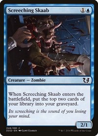 Screeching Skaab, Magic: The Gathering, Duel Decks: Blessed vs. Cursed