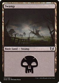 Swamp (74), Magic: The Gathering, Duel Decks: Blessed vs. Cursed
