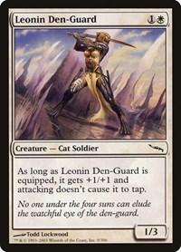 Leonin Den-Guard, Magic: The Gathering, Mirrodin