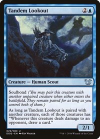 Tandem Lookout, Magic: The Gathering, Duel Decks: Blessed vs. Cursed