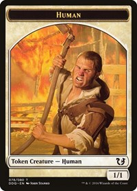 Human Token, Magic: The Gathering, Duel Decks: Blessed vs. Cursed
