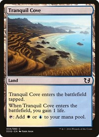 Tranquil Cove, Magic: The Gathering, Duel Decks: Blessed vs. Cursed
