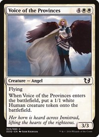 Voice of the Provinces, Magic: The Gathering, Duel Decks: Blessed vs. Cursed