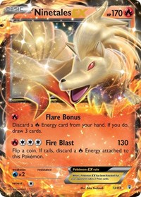 Ninetales EX, Pokemon, Generations