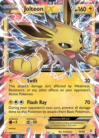 Jolteon EX, Pokemon, Generations