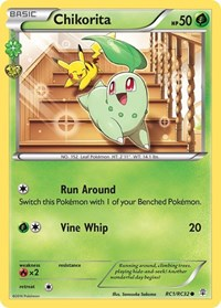 Chikorita, Pokemon, Generations: Radiant Collection