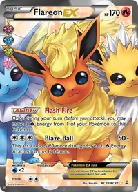 Flareon EX (Full Art), Pokemon, Generations: Radiant Collection