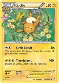 Raichu, Pokemon, Generations: Radiant Collection