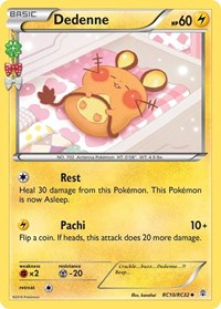Dedenne, Pokemon, Generations: Radiant Collection