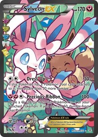 Sylveon EX (Full Art), Pokemon, Generations: Radiant Collection