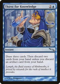 Thirst for Knowledge, Magic: The Gathering, Mirrodin