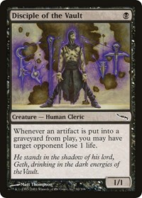 Disciple of the Vault, Magic: The Gathering, Mirrodin