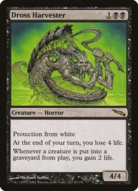 Dross Harvester, Magic: The Gathering, Mirrodin