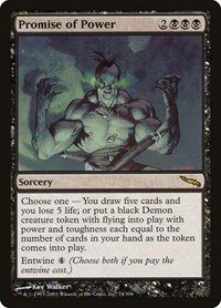 Promise of Power, Magic: The Gathering, Mirrodin