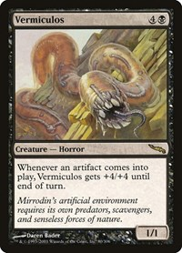 Vermiculos, Magic: The Gathering, Mirrodin