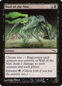 Wail of the Nim, Magic: The Gathering, Mirrodin