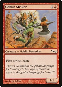 Goblin Striker, Magic: The Gathering, Mirrodin