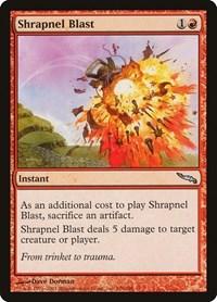 Shrapnel Blast, Magic: The Gathering, Mirrodin