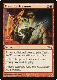 Trash for Treasure, Magic: The Gathering, Mirrodin