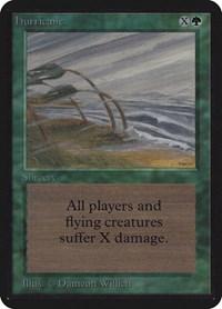 Hurricane, Magic: The Gathering, Alpha Edition