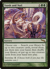 Tooth and Nail, Magic: The Gathering, Mirrodin