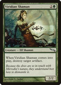 Viridian Shaman, Magic: The Gathering, Mirrodin