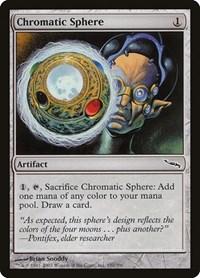 Chromatic Sphere, Magic, Mirrodin