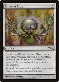 Chrome Mox, Magic: The Gathering, Mirrodin