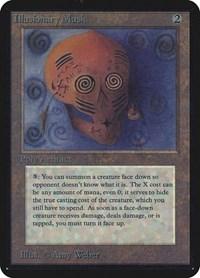 Illusionary Mask, Magic: The Gathering, Alpha Edition