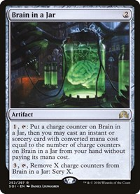 Brain in a Jar, Magic: The Gathering, Shadows over Innistrad